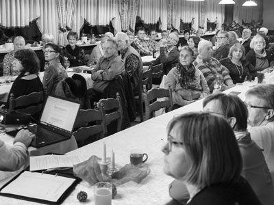 Generalversammlung beim Gesangverein ohne Misstöne